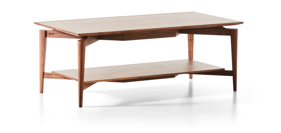 Mona Solid Walnut Coffee Table